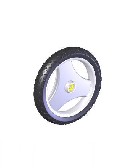 Offroad-hjul foran, stk.