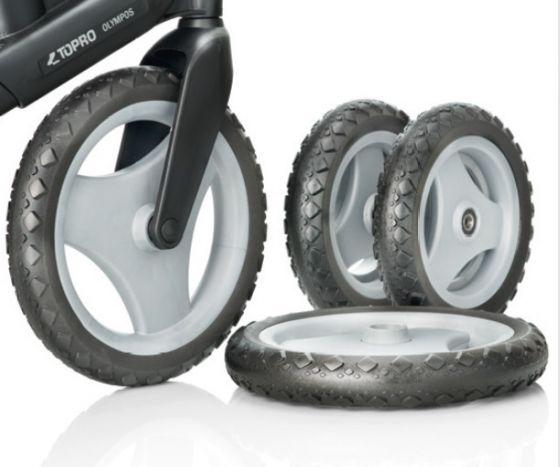 TOPRO Off road-hjul for IBS, sett á fire hjul