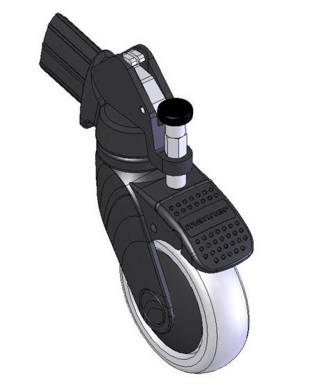 Hjulsats for håndbrems Ø100 mm, Taurus