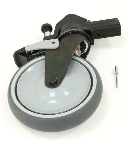Bakhjul for håndbrems, ø150 mm
